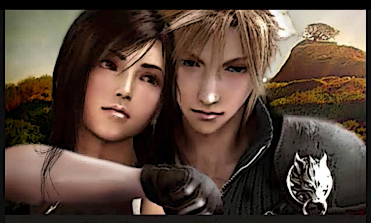 Cloud et Tifa